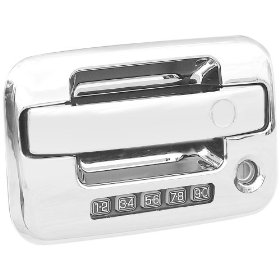 Show details of Putco 401012 Chrome Trim Door Handles.