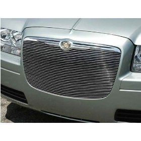 Show details of New! Chrysler 300/300C Billet Grille/Grill, Overlay, Polished, 04-07.