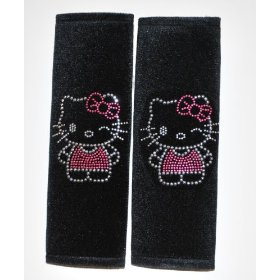 Show details of Hello Kitty Shoulder Pad With Rhinstone.