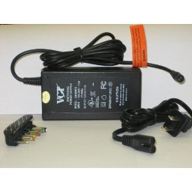 Show details of 12V DC AND 5.3 AMPS SWITCHING AC TO DC POWER SUPPLY WITH MULTIPLE TIPS. MODEL - VM 80W12.