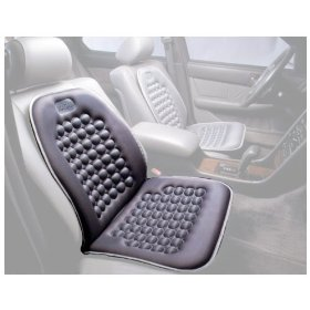 Show details of Magnetic Bubble Seat Cushion - Light Gray.