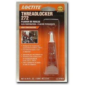 Show details of Loctite 272 Threadlocker Red High Temp/High Strength 6 ml..