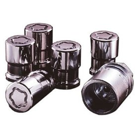 Show details of McGard 24157 Chrome Cone Seat Wheel Locks (M12 x 1.5 Thread Size) - Set of 4.