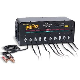 Show details of Deltran Battery Tender 10-Bank 12-Volt 2.0 Amp Battery Management System.