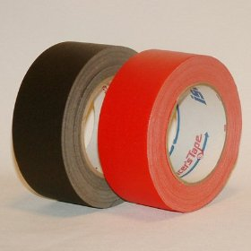 Show details of ISC Dull-Finish Racer's Tape: 2 in. x 30 yds. (Black).