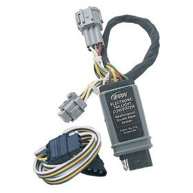 Show details of Hopkins Plug-In Simple 43515 T Connector Wiring Kit For Nissan Frontier Pickup, '98-03.