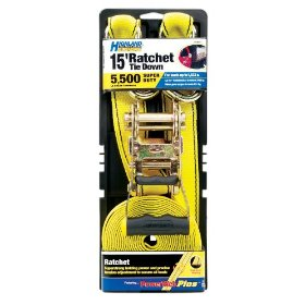 Show details of Highland 11517 Ultimate Ratchet Tie Downs - 5,500 pound break strength.