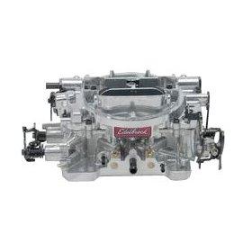 Show details of Edelbrock 1826 Thunder Series 650 CFM Square Bore 4-Barrel Electric Choke New Carburetor.