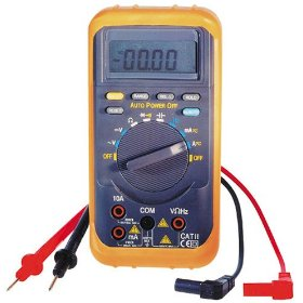 Show details of Electronic Specialties 480A Auto-Ranging Digital Multimeter.