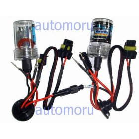 Show details of 8000K Series: 9006 HID Replacement Bulbs (pair).