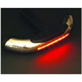 Show details of 2 in 1 Bully Hitch Step w/ LED Brake Light.