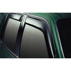 Show details of EGR 573191 WindowVisor Dark Smoke 4-Piece In-Channel Tapeless Window Visors.