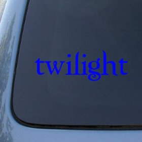 Show details of TWILIGHT LOGO - Edward Cullen Vinyl Decal Sticker #1655 | Vinyl Color: Blue.