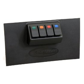 Show details of Daystar KJ71030 Lower Dash Switch Panel Kit.