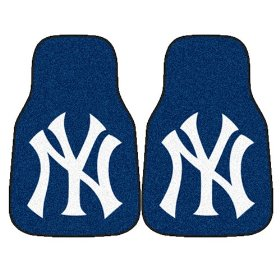 Show details of Fanmats MLB - New York Yankees Car Mats #6340.