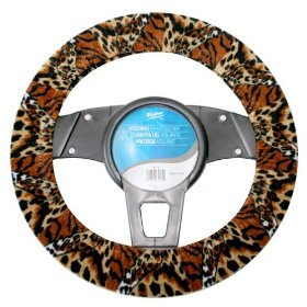 Show details of Elegant 36016 Steering Wheel Cover Safari.