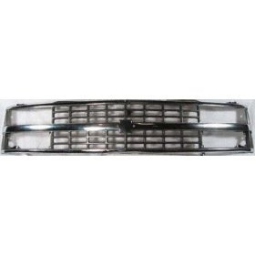 Show details of Chrome Grille Grill 88-93 Chevy Pickup Truck 92-93 Suburban Blazer 88 89 90 91 92 93 1988 1989 1990 1991 1992 1993 Pickups Trucks Chromed.