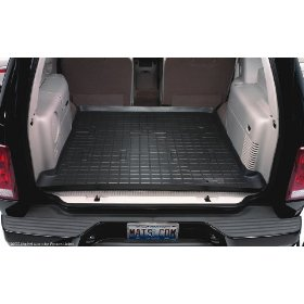 Show details of WeatherTech 40318 Black Rubber Cargo Liner.