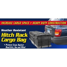 Show details of Keeper 7209 Hitch Rack Cargo Bag, Weather Resistant, 11 Cu. Ft..