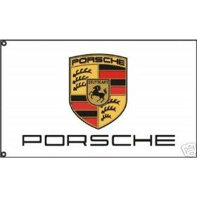 Show details of PORSCHE CARRERA GT CAYENNE CAYMAN 911 944 928 DEALER FLAG BANNER.