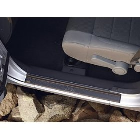 Show details of Jeep Wrangler Door Entry Guards.