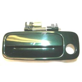 Show details of 97 98 99 00 01 Toyota Camry GREEN 6R1 Left Outside Door Handle 1997 1998 1999 2000 2001 LH.