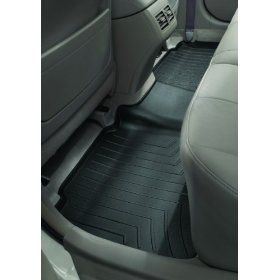 Show details of WeatherTech 440032 Black Extreme Duty Rear Floor Liner.