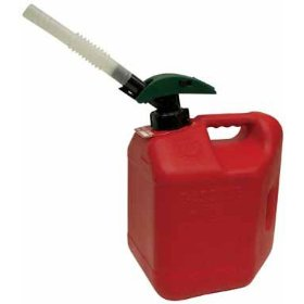 Show details of Blitz Enviro-Flo Plus Gas Can (2.06 gallons).