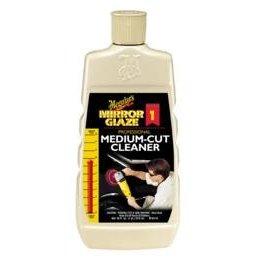 Show details of Meguiar's M0116 Mirror Glaze Medium-Cut Cleaner - 16 oz Bottle.