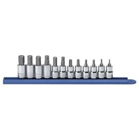 Show details of GearWrench 80580 12-Piece 3/8-Inch Drive Metric Hex Bit Socket Set.