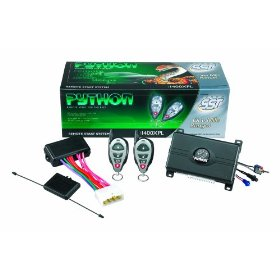 Show details of Python 1400XP Remote Start System.