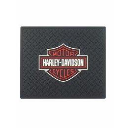 "Show details of PlastiColor 1002 Large Harley-Davidson Logo Molded 14"" x 17"" Utility Mat."
