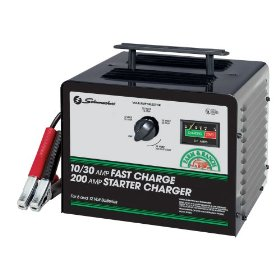 Show details of Schumacher SE-3010 Fast Charge Starter Charger.