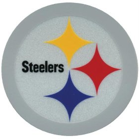 Show details of Pittsburgh Steelers - Logo Reflective Decal.