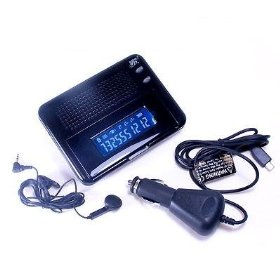Show details of LCD Screen Bluetooth Wireless Hand Free Speaker Phone.