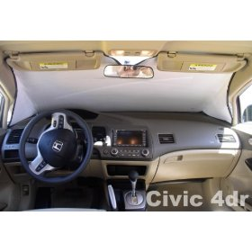 Show details of Sunshade for Honda Civic Sedan 2006 2007 2008 2009 HEATSHIELD Custom-fit Sunshade.