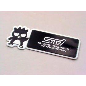 Show details of Subaru Impreza STI Badtz Maru Emblem Badge.