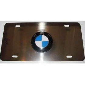 Show details of BMW Logo Chrome License Plate..