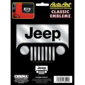 Show details of Jeep Classic Emblemz Decal.