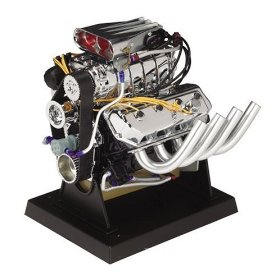 Show details of Liberty Classics 1/6 Scale 426 C.I Hemi Top Fuel Dragster Replica Engine.
