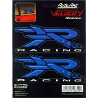 Show details of R Racing Vinyl - Blue Decal.