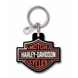 Show details of PlastiColor 4179 Harley-Davidson Logo Plastisol Key Chain.