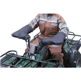 Show details of Classic Accessories 78137 Quadgear Black ATV Mitt.