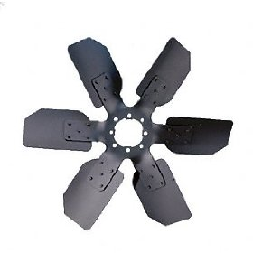 "Show details of Flex-a-lite 5717 Steel Star Aluminum 17.25"" O.E. Replacement Fan."