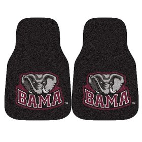 Show details of Fanmats University of Alabama Car Mats #5077.