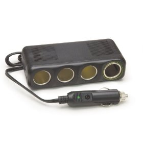 "Show details of 12V, 4 Outlet Platinum Series Cigarette Lighter Adapter with 30"""" Cord""."