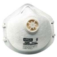 Show details of MSA Safety Works 10087609 Respirator with Exhalation Valve.