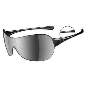 Show details of Oakley Conduct in Polished Black with Black Iridium Lenses Sunglasses - Ships in ''24'' Hours!.