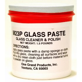Show details of One Grand Paste Glass Cleaner, 24 oz Jar.