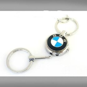 Show details of BMW Roundel Logo Valet Key Chain.